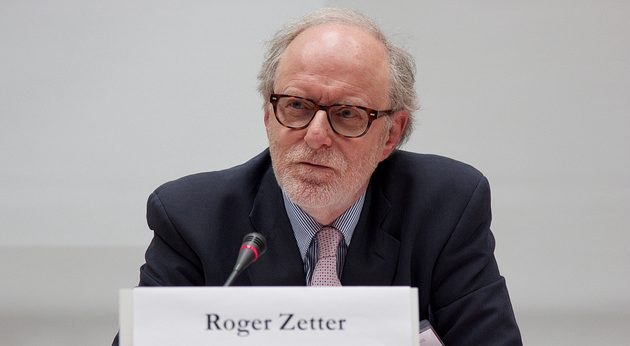 Prof. Roger Zetter to be hosted by ULg as third rotating Chair in Environmental Diplomacy (EDGE project)