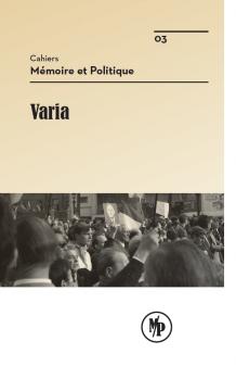 Cahiers M&P - Num. 3