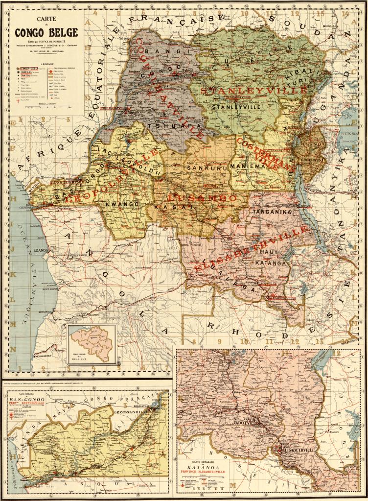 Histoires et mémoires coloniales belges