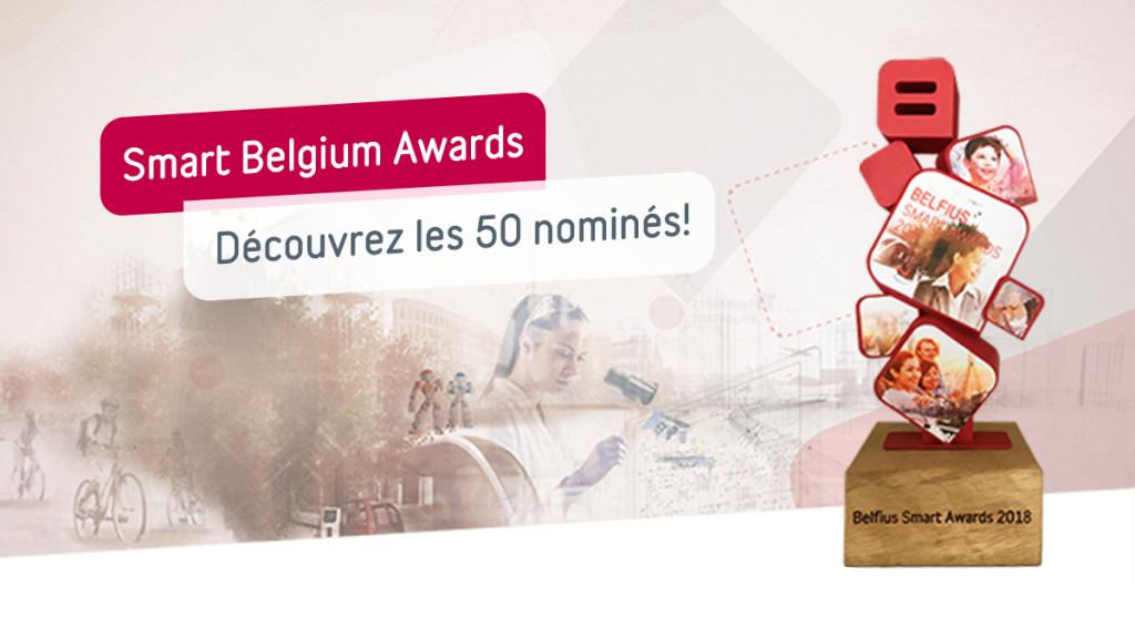 Smart Belgium Awards 2018 - Découvrez les 50 nominés!